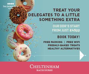 Cheltenham Racecourse Advert