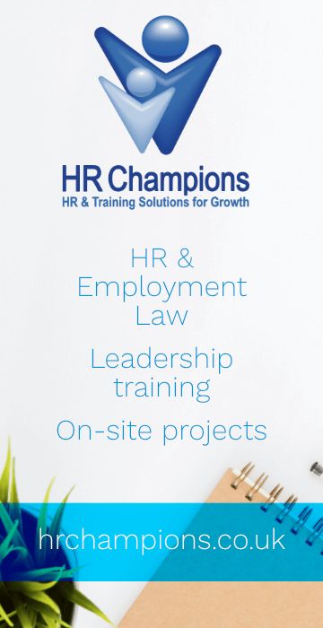 HR Champions Advert