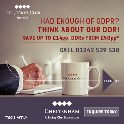 Cheltenham Racecourse Advert