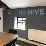 The Hive meeting room at Optimising IT