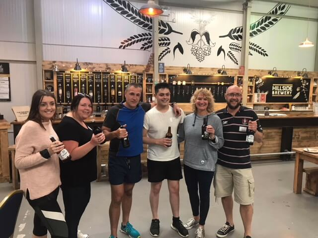 Team Building Event with Hillside Brewery & Hartpury College
