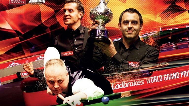 Ladbrokes Snooker World Grand Prix at Cheltenham Racecourse