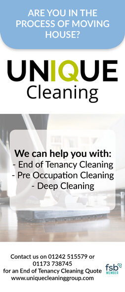 Unique Cleaning Group Advert