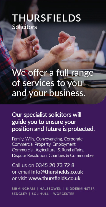 Thursfields Solicitors Advert