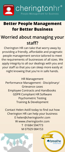 Cherington HR Advert