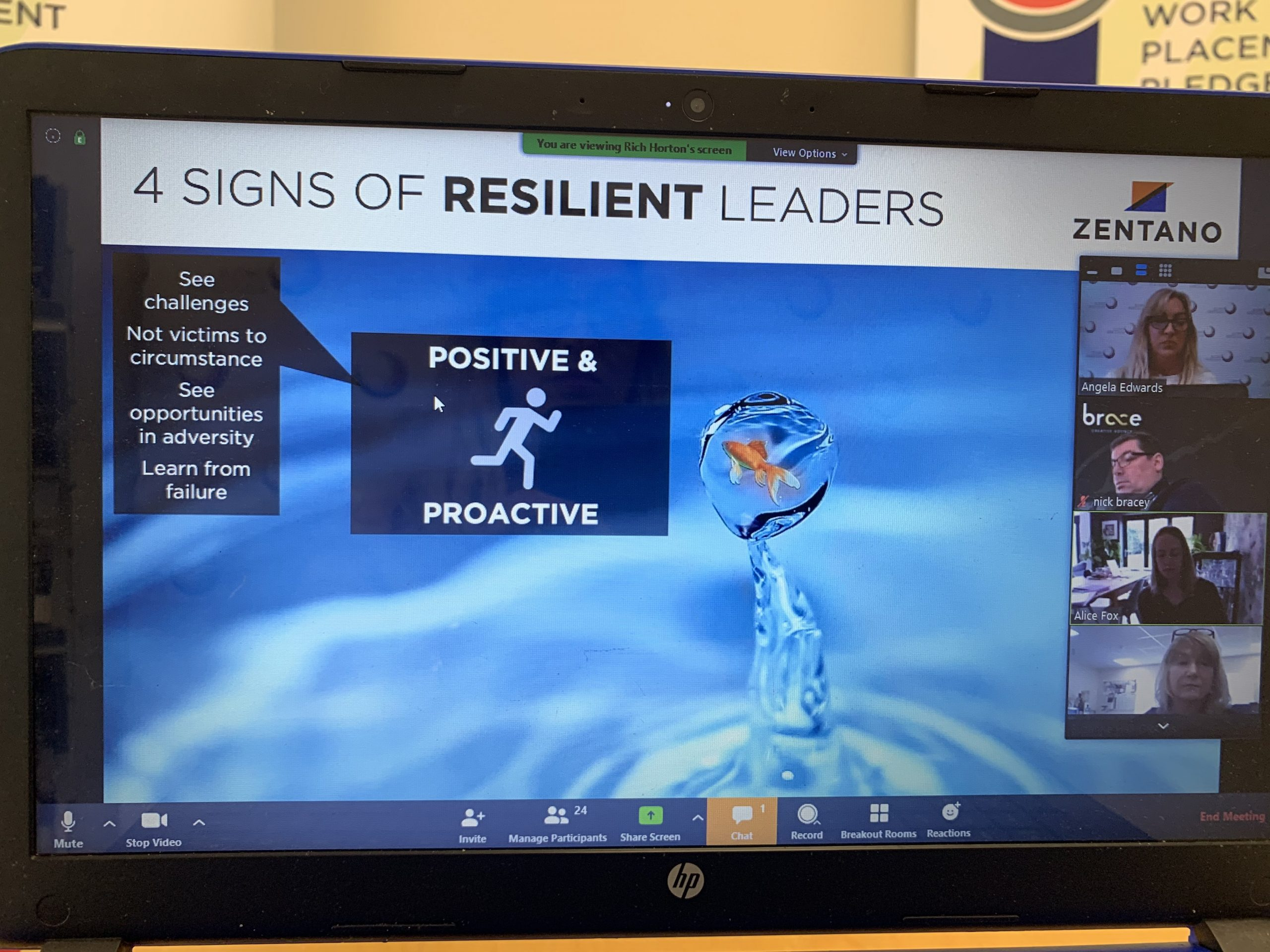 C2S Virtual Event – What Leaders Needs to Know About Resilience with Zentano