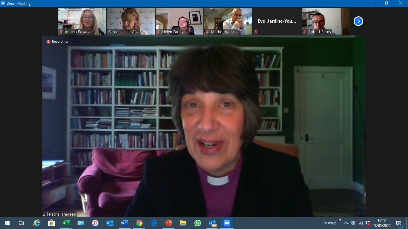 C2S Talks Live with Rt Revd Rachel Treewek, Bishop of Gloucester