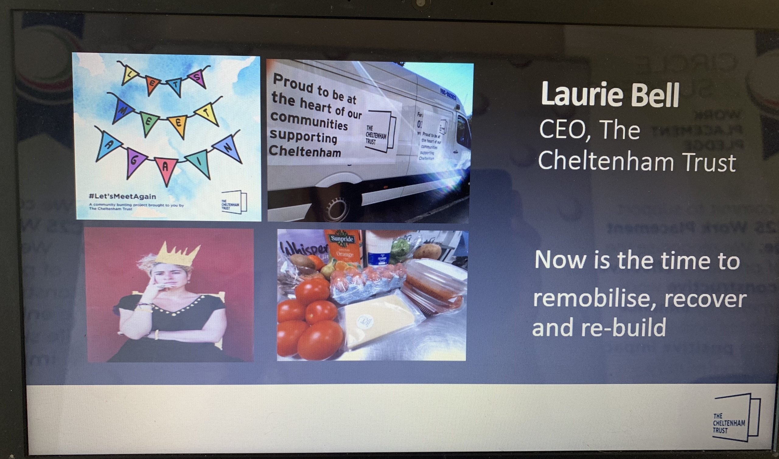 Virtual Leaders Forum on Recovery with Laurie Bell, CEO Cheltenham Trust – Outstanding!
