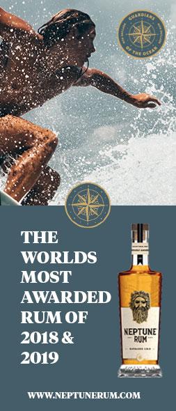 Neptune Rum Advert