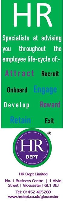 HR Dept (Gloucester) Advert