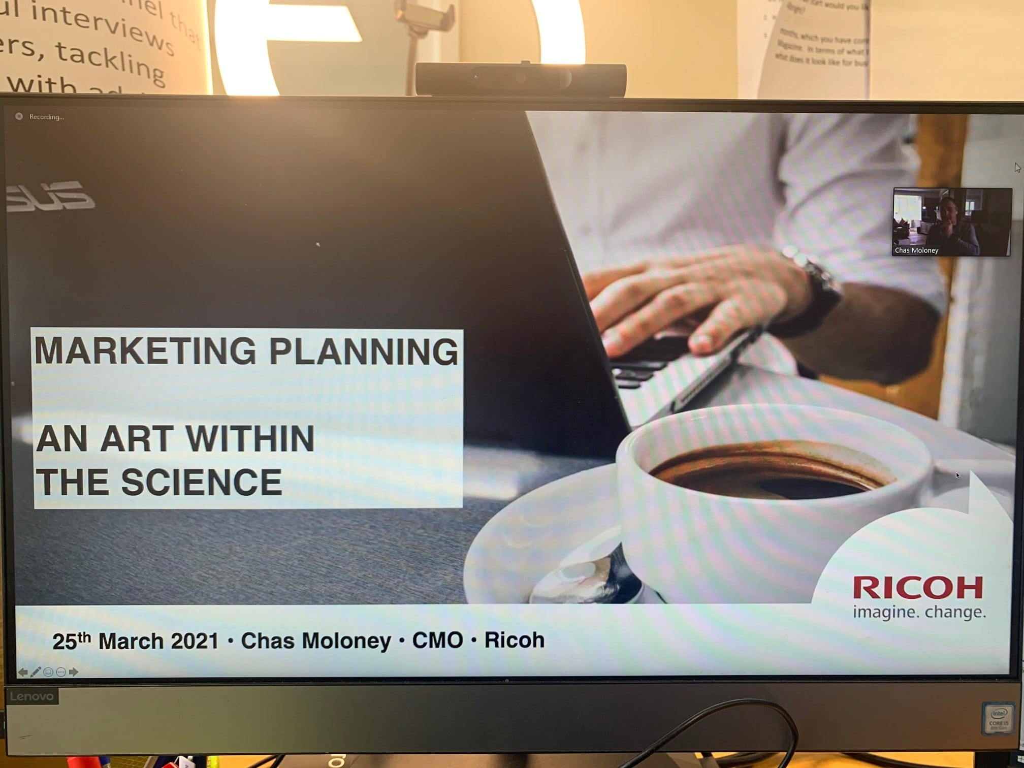 C2S Leadership Week – Day 4 – Brand & Marketing with Ricoh UK