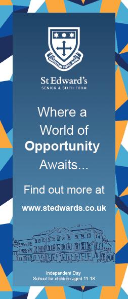 St Edward's School Advert