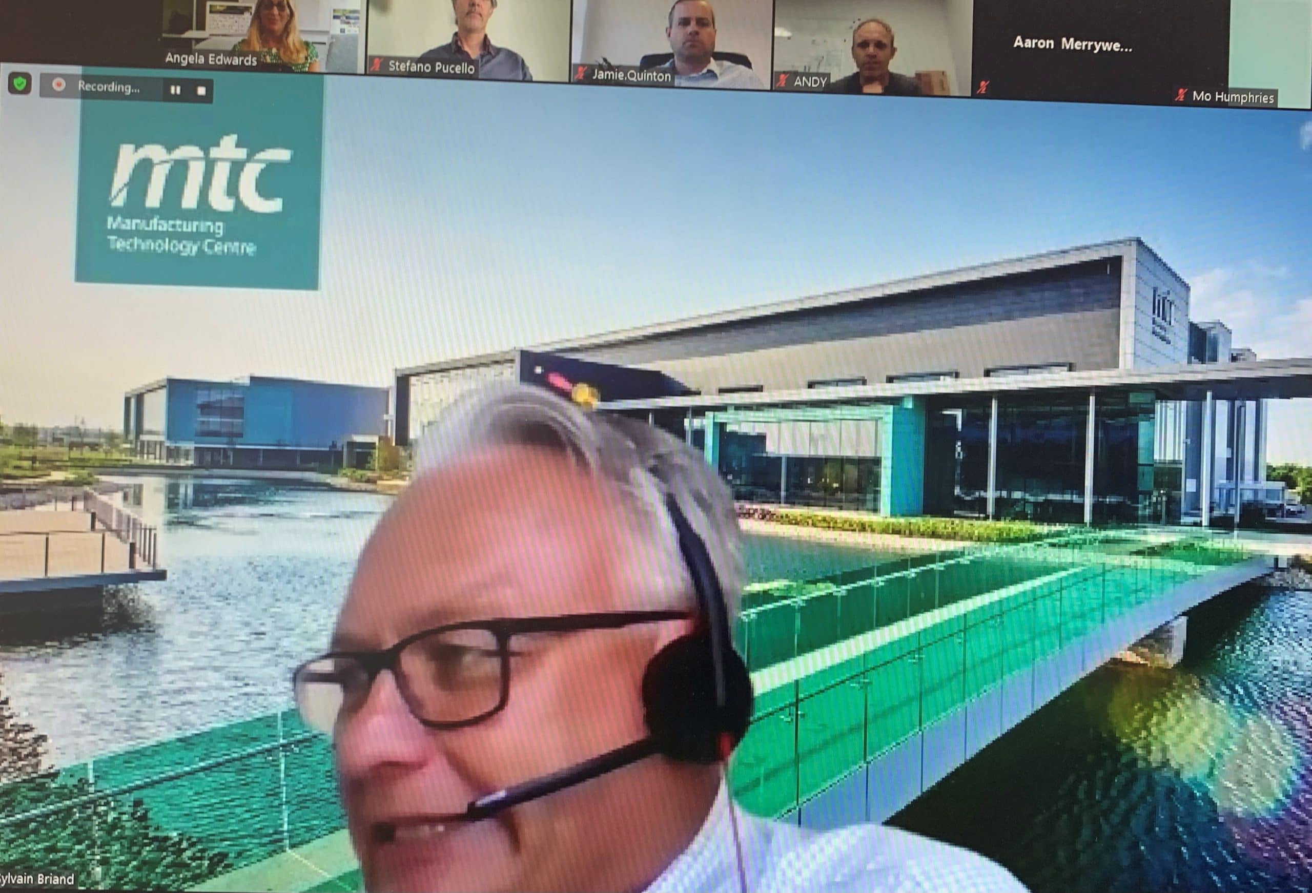 Manufacturing Focus Online Event in Collaboration with the MTC